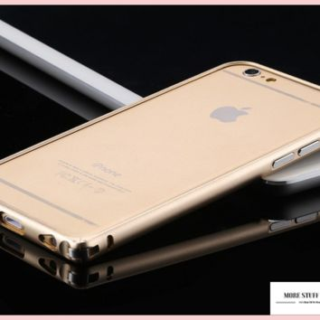 "Ultra Thin Capa Apple iPhone 6, 6s Bumper Luxury Aluminum Metal Cell Phone Protective Cases "" FREE SHIPPING """