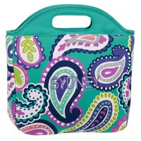 Gear-Up Pool Paisley Tote Lunch Bag
