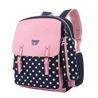 School Backpack Cute Girls Backpacks Kids Satchel Children School Bags For Girls orthopedic school supplies school bags for girls kids backpack AT_48_3