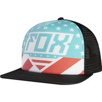 Fox Racing Men's Intake USA Trucker Hat 13869-001