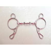 Stainless Steel Wonder Gag Snaffle Bit  Horse Equipment  (H0913B)