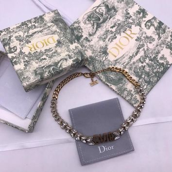 Ready Stock Christian Dior Necklace #11569