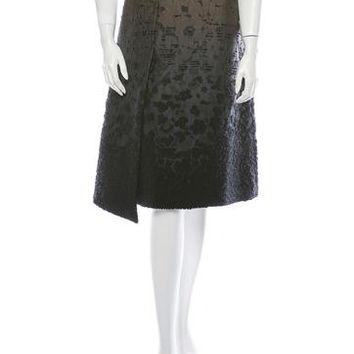 Piazza Sempione Boucle Skirt