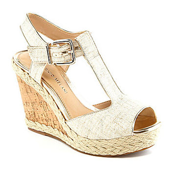 Antonio Melani Yardley T-Strap Wedges | Dillards.com