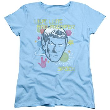 Star Trek - Japansese Spock Short Sleeve Women's Tee Shirt Officially Licensed T-Shirt