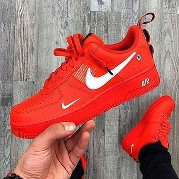 shosouvenir NIKE AIR FORCE 1 AF1 OW Running Sport Shoes Sneakers c01d953722f5