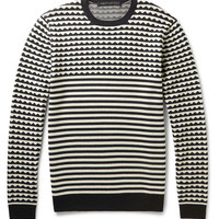 Marc by Marc Jacobs - Patterned Wool Sweater | MR PORTER