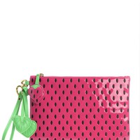Azalea Palm Oasis Strawberry Wristlet by Juicy Couture, O/S