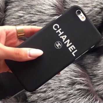 Fashion Inspired Black Phone Case