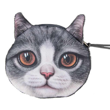 Scottish Fold Coin Purse