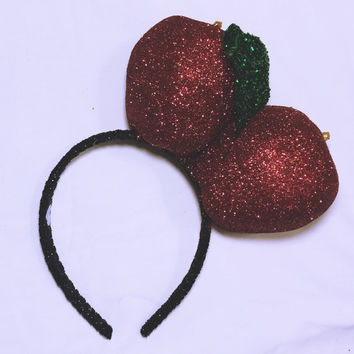 "xoCurlub ""Red Apple Rave"" Fruit Headband - Marina and the Diamonds FROOT Inspired Accessories"