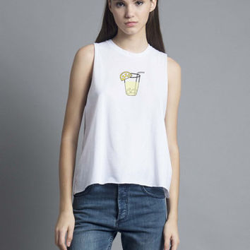 Lemonade Muscle Tank
