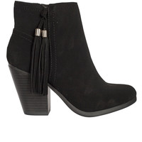 Stevie Fringe Ankle Boots-FINAL SALE