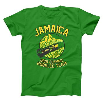 Jamaica 1988 Olympic Bobsled Team Men's T-Shirt