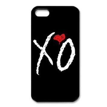 XO Heart Phone Case