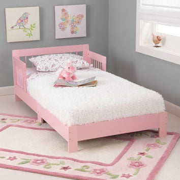 KidKraft Houston Toddler Bed - Pink  - 76244