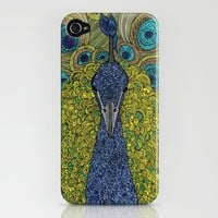 Mr. Pavo Real iPhone Case by Valentina Ramos | Society6