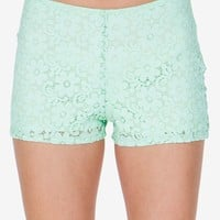 Daisy Chain Crochet Short