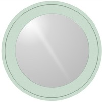 Large Round Bay Mirror