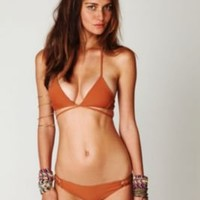 Acacia Swimwear Crochet Side Bottoms at Free People Clothing Boutique