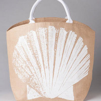 SEASHELL BEACH TOTE
