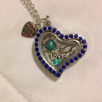 The Little Mermaid Inspired Floating Charm Memory Locket