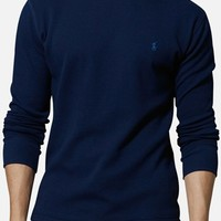 Men's Big & Tall Polo Ralph Lauren Thermal Crewneck Lounge Shirt