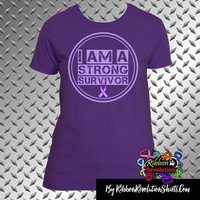 I am a Strong Survivor Shirts For Cystic Fibrosis, Crohn's Disease, Epilepsy, Lupus, Ulcerative Colitis and More