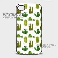 Cactus Plastic Case for iPhone, iPod, Samsung Note, Samsung Galaxy, HTC, BB Z10 by FixCenters