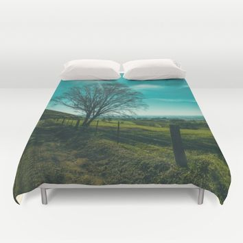 The Walk Home Duvet Cover by Mixed Imagery