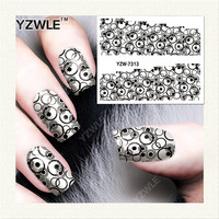 Nails Art Water Transfer Printing Stickers Accessories For Manicure Salon