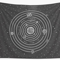 'Solar System' Wall Tapestry by Neolrond3