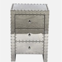 Hegg 3 Drawer Nightstand