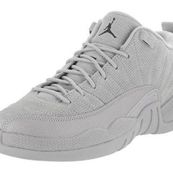NIKE AIR JORDAN 12 Retro Kid's Low BG Basketball Shoe