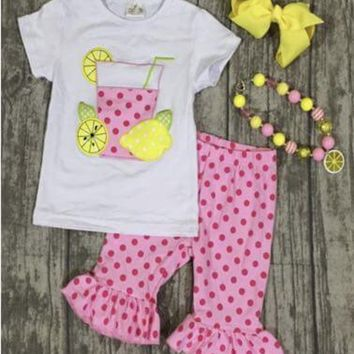 RTS Blowout Sale! Lemonade Set D74