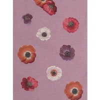 Anemones Pink French Table Runner