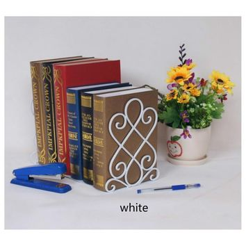 1 Pcs Classical Bookends Bookshelf Bookcase Suited for Home and Office