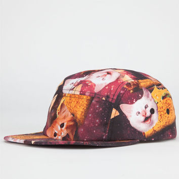 Mrkt Crshr Space Katz Mens 5 Panel Hat Black Combo One Size For Men 22706314901
