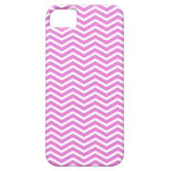 Pink White Zig Zag - iPhone 5 Case