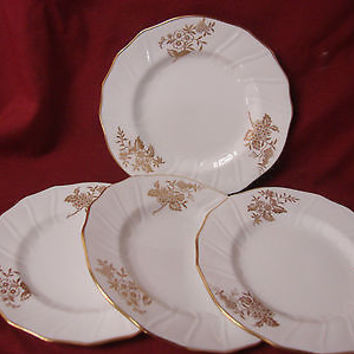 Spode Bone china  Dinnerware Louvain  Pattern #Y7520  set 2 Bread plate