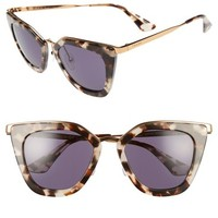 Prada 52mm Layered Frame Sunglasses | Nordstrom