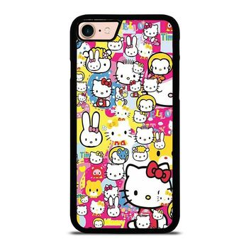 HELLO KITTY STICKER BOMB iPhone 8 Case Cover
