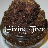NEW Giving Tree Warm Medium Brown Gold Undertones Mineral Eyeshadow Mica Pigment 5 Grams Lumikki Cosmetics