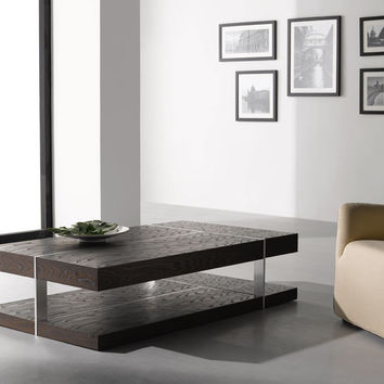 857-A MODERN COFFEE TABLE BY J&M FURNITURE.