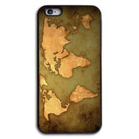 Vintage World Map Case for iPhone and Samsung Series,More Phone Models For Choice