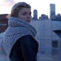 Katniss Cowl/Shawl/Vest Inspired by The Hunger Games