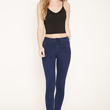 Heathered Knit Cropped Cami | Forever 21 - 2000153898