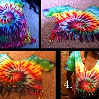 tie die shirts cut - Google Search