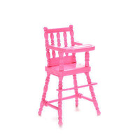 Fashion Baby High Chairs Dollhouse Furniture Toys Barbie Girls Birthday 3C
