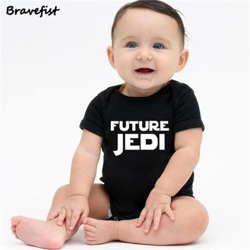 Newborn Star Wars Baby Clothes Cotton Romper Playsuit Sunsuit Outfits Infant Boys Girls Summer Rompers Costume 0-24M JEDI Print